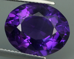 8.55 CTS MAGNIFICENT NATURAL PURPLE-VIOLET AMETHYST NICE OVAL~CUT