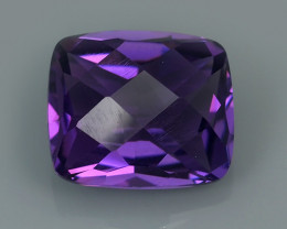 5.35 CTS MAGNIFICENT NATURAL PURPLE-VIOLET AMETHYST NICE