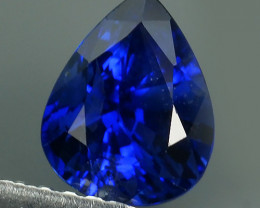 CERTIFIED 1.48 CTS AWESOME CORNFLOWER BLUE SAPPHIRE FACET GENUINE MADAGASCA