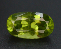 3.40 Ct Untreated Green Color Peridot ~ GAS
