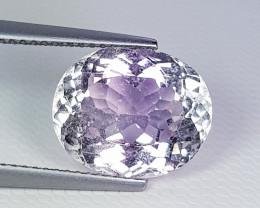 4.36 ct  Top Quality Gem  Stunning Heart Shape Natural Pink Kunzite