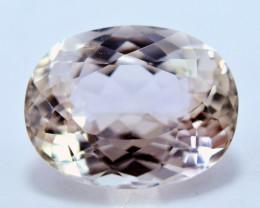 NR Auction 9.75 CT Natural Peach Color Kunzite Gemstone