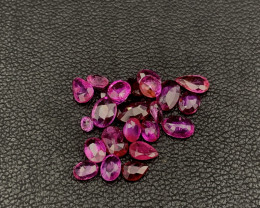 """NR""Hot Lot Of Unheated/Untreated Rubies 4.60 Carats Pigeon Blood"