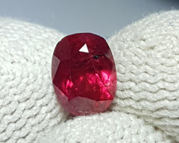 UNHEATED CERTIFIED 1.07 CTS NATURAL BEAUTIFUL RED RUBY MOZAMBIQUE