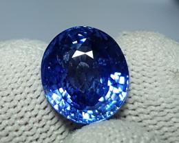CERTIFIED 8.09 CTS NATURAL STUNNING OVAL MIX CUT BLUE SAPPHIRE SRI LANKA