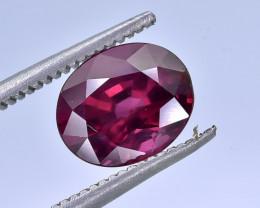 2.59 Crt Natural Rhodolite Garnet Faceted Gemstone.( AB 08)