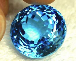 38.70 Tcw. Blue Brazilian VVS Topaz - Gorgeous