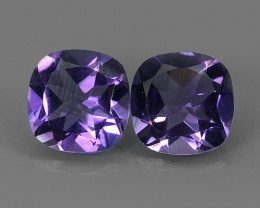 6.95 CTS RAVISHING AFRICA DEEP PURPLE AMETHYST GEM!!