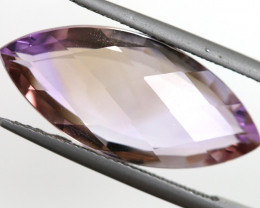 10.45 CTS  NATURAL AMETRINE FACETED GEMSTONE BG-412