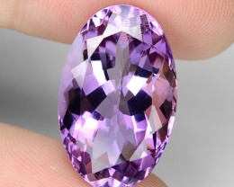 13.57 Cts AMAZING RARE PURPLE PINK AMETHYST LOOSE GEMSTONE