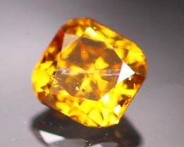 0.07Ct Natural Cognac Color Fancy Diamond C0603