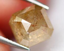 1.14Ct Natural Brown Color Fancy Diamond D0608