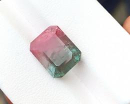 Black Friday Sale 6.50 Ct Natural Bi Color Transparent Tourmaline Gemstone