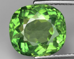 5.22 CT GREEN APATITE TOP CLASS CUT G4