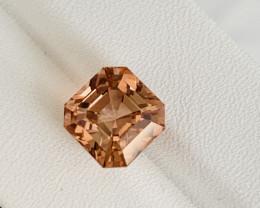Amazing Color 6.30 Ct Natural Pinkish Brown Tourmaline