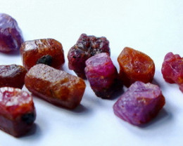 81.00 Ct Unheated ~ Natural Ruby Rough Lot