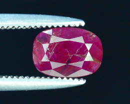 Top Clarity & Color 1.05 ct Rarest Pink Ruby~Kashmir