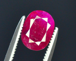 Top Clarity & Color 1.20 ct Rarest Pink Ruby~Kashmir