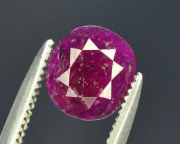 Top Clarity & Color 1.25 ct Rarest Pink Ruby~Kashmir