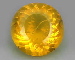 CERTIFIED 10.96 CTS ORANGE=YELLOW COLOR  FIRE OPAL FINE COLLECTION~$480.00