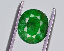 1.50 Ct Superb Color Natural Swat Emerald ~ HM