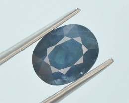 3.35 ct Natural Untreated Blue Color Sapphire AD