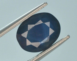 2.70 ct Natural Untreated Blue Color Sapphire AD