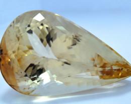 615 Carats Top Quality Pear Cut Sherry Topaz Gemstone