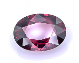 2.89 Crt Rhodolite Garnet Faceted Gemstone (R44)