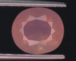 Peruvian Pink Opal 1.40 ct AAA Rare Untreated/Unheated