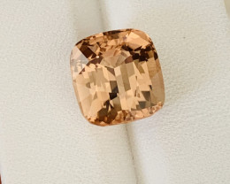 Amazing Color 8.55 Ct Natural Pinkish Brown Tourmaline