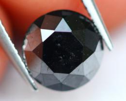 Diamond 1.07Ct Natural Fancy Black Carbonado Diamond D0702
