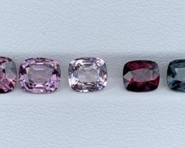 6.58 Carats Spinel Gemstones