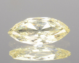 0.21 Cts Natural Untreated Diamond Fancy Yellow Marquise Cut Africa