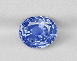 Blue Sapphire, 4.27ct - Mined in Kashmir | Certified by GIA, GRS & IGI