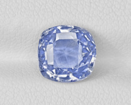 Blue Sapphire, 3.01ct - Mined in Kashmir | Certified by GIA, GRS & IGI