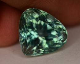 15.70 Ct Green Spodumene Gemstone From Afghanistan~ G AQ