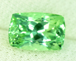 NR 6.75 Carats Green Color Spodumene Gemstone