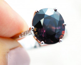 CERTIFIED NATURAL PARTY SAPPHIRE 7.27 CTS  SG121