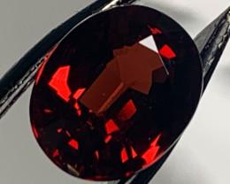 ⭐2.25ct  Red Rhodolite Garnet No Reserve