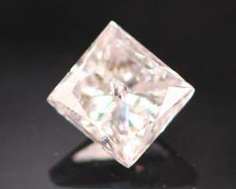 Diamond 0.13Ct Natural Princess Cut Fancy Diamond B0801