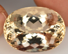 GRA CERT~Rare 40.49 Ct Superb Color Natural Imperial Topaz