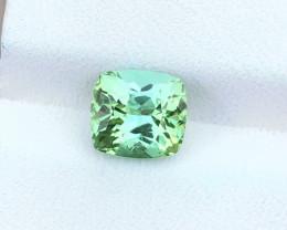 1.85 Ct Natural Greenish Transparent Tourmaline Gemstone