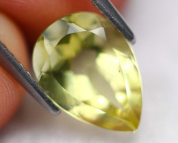 Lemon Quartz 1.88Ct Natural VVS Lemon Quartz  D0901