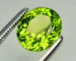 Olive Green Color 2.80 Ct Natural Himalayan Peridot. RA