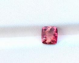 1.35 Ct Natural Pinkish Transparent Tourmaline Ring Size Gemstone