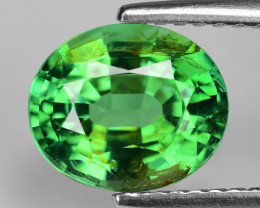 2.21 Cts Un Heated Green Color Natural Tourmaline Loose Gemstone