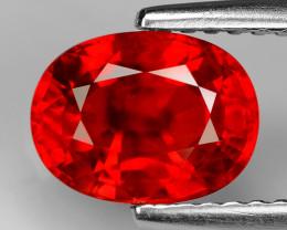 2.21 Carat Very Rare Orange Red Color Sapphire Loose Gemstones