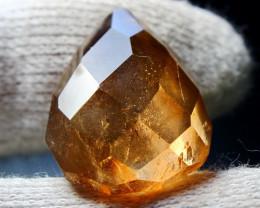 33.80 CT Natural & Unheated Orange Brown Topaz Gemstone