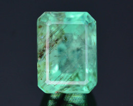 1.35 ct Natural Untreated Emerald~Panjshir T